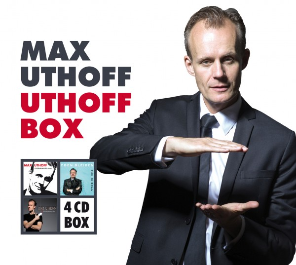 Max Uthoff Box 4CDs