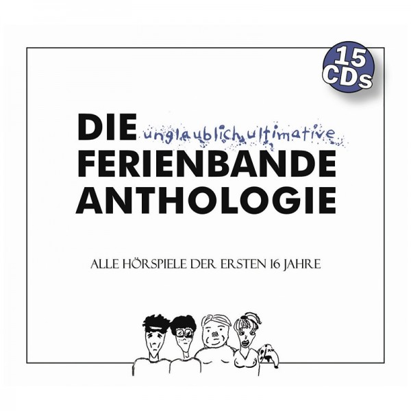 Die Ferienbande - Die unglaublich ultimative Ferienbande Anthologie - 15CDs