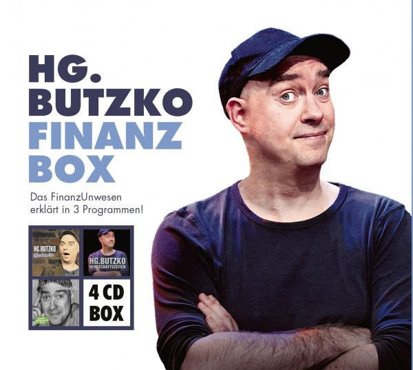 HG. Butzko - Finanz-Box - 4CDs