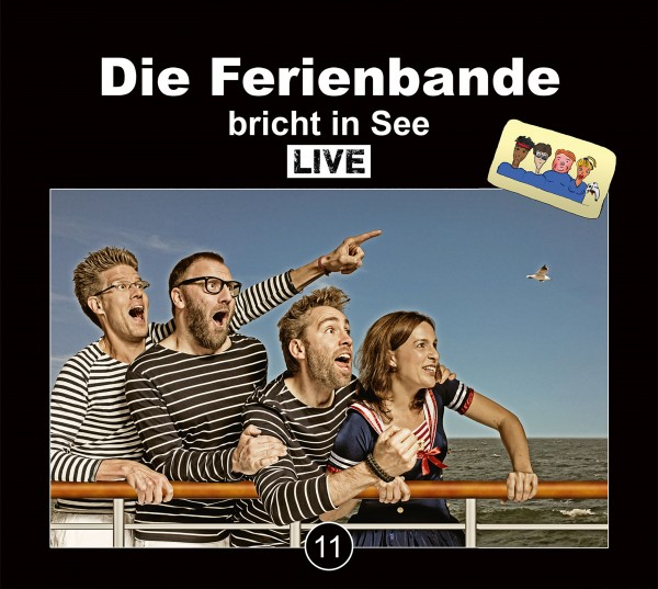 Die Ferienbande bricht in See (live) - 2CDs