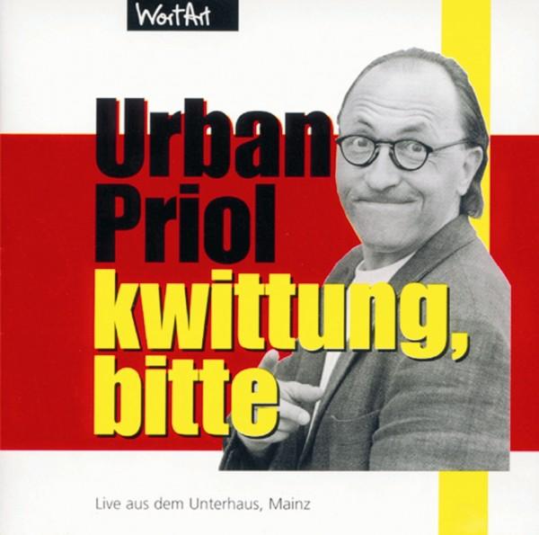 Urban Priol - Kwittung, bitte - 1CD