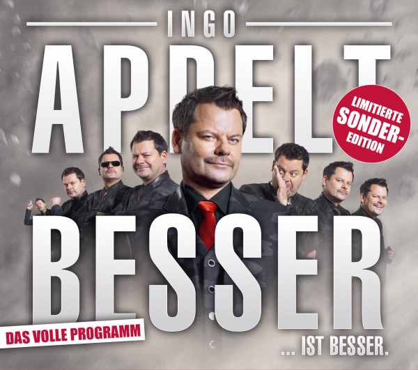 Ingo Appelt Besser… ist besser! - 2CDs Limitierte Sonderedition