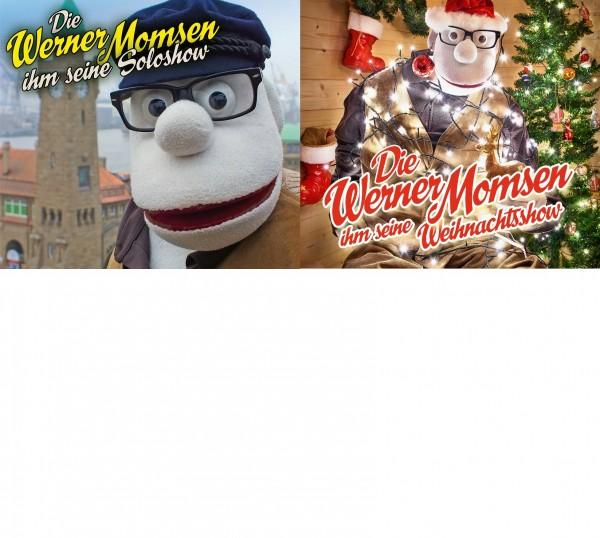 Werner Momsen ihm seine Soloshow + ihm seine Weihnachtsshow im Set 3CDs
