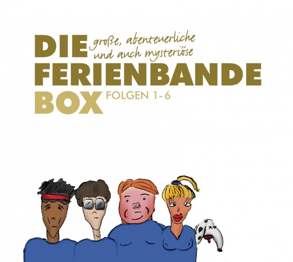 Die Ferienbande: Die große, abenteuerliche und auch mysteriöse Ferienbande Box (Hörspiel) - 7 CDs