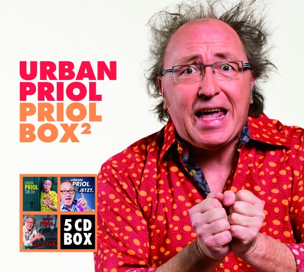 Urban Priol - Priol Box 2 - 5 CDs