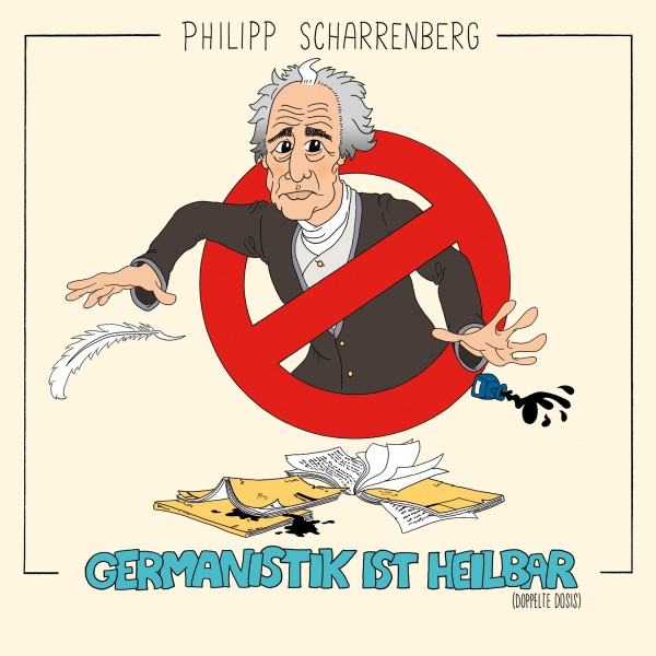 Philipp Scharrenberg - Germanistik ist heilbar - 2CDs