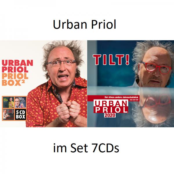 Urban Priol - im Set 7CDs