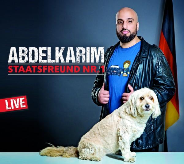 Abdelkarim - Staatsfreund Nr.1 Live-Mitschnitt 2CDs