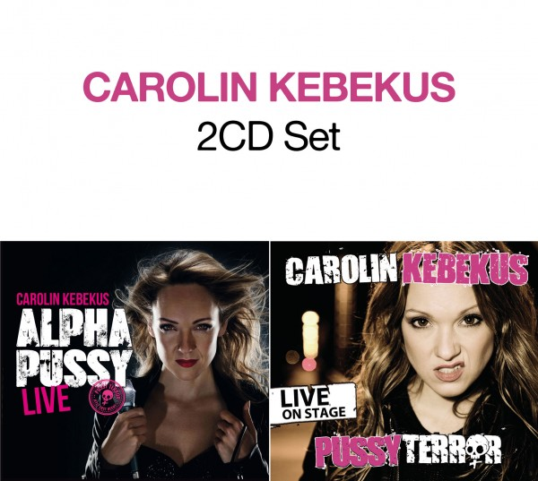 Carolin Kebekus - AlphaPussy Live + PussyTerror Live on Stage - CD Set